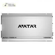 Amplificator auto Avatar ATU 1000.4, 4 canale, 1000W Amplificatoare auto