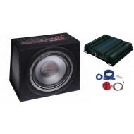Pachet Mac Audio Mac Audio Edition BS30 Amplificator Crunch  Subwoofere Auto