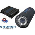 Pachet subwoofer Crunch Junior Tube Pack 200