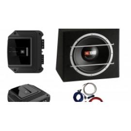 Pachet Amplificator JBL GX-A3001+JBL CS1204B+Kit Bull Audio Subwoofere Auto